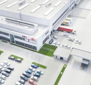 Centrum Logistyczne AB w Magnicach