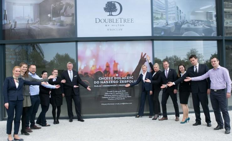 DoubleTree by Hilton Wrocław rozpoczyna rekrutację