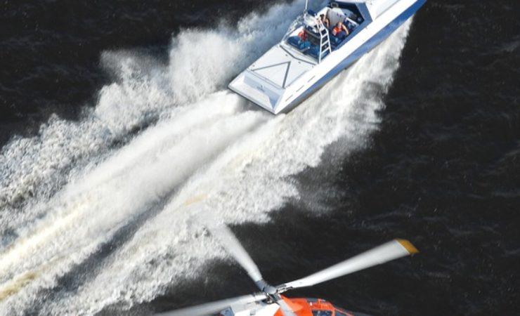Krajowa Administracja Skarbowa walczy z przemytem na morzu