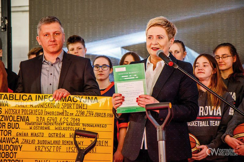 7ba0c488 Ruszyła budowa hali widowiskowo-sportowej ARENA OSTRÓW | Kapital Polski