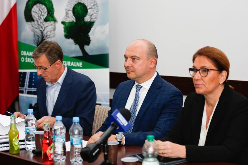 W Delegaturze Urzędu Wojewódzkiego w Chełmie Spółka JSW zaprezentowała swoje plany rozwojowe.