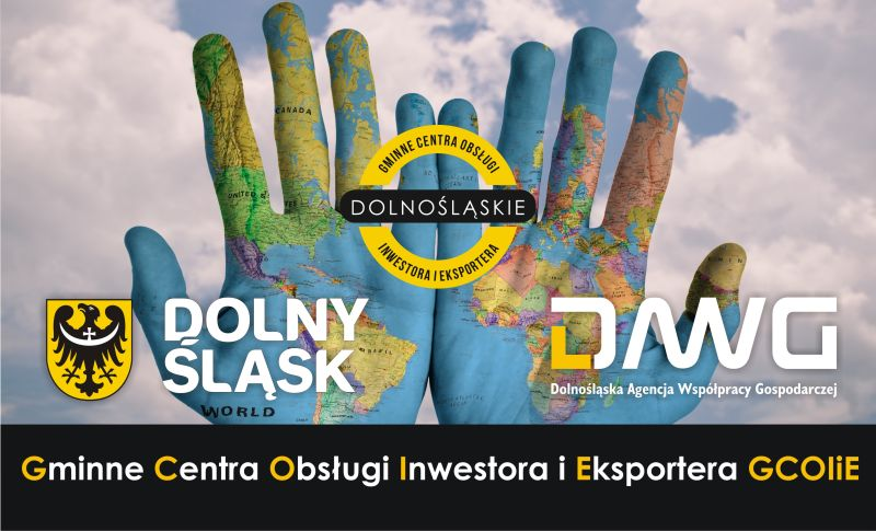 Gminne Centra Obsługi Inwestora i Eksportera baner DAWG