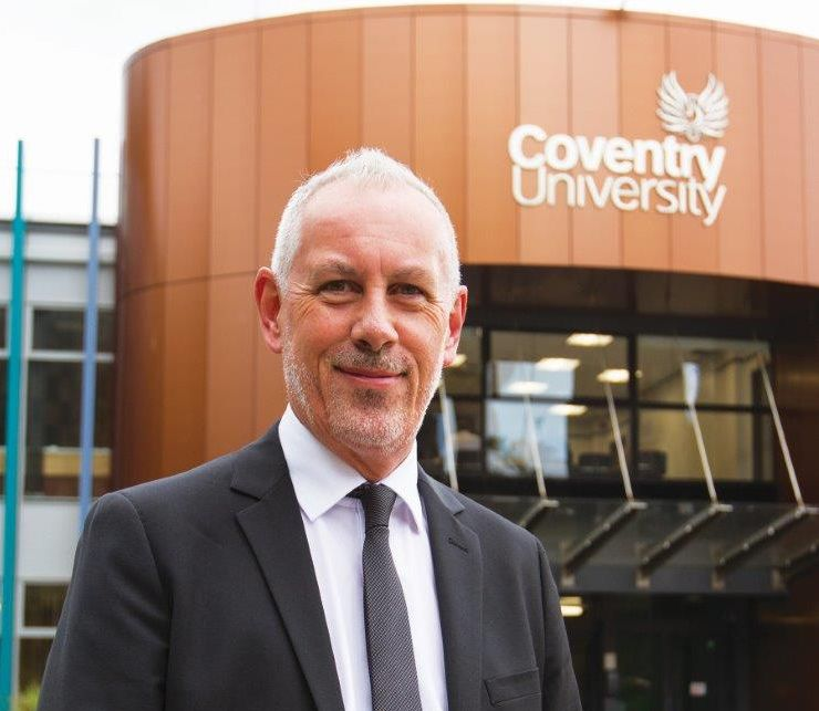 John Dishman, Prorektor Uniwersytetu Coventry
