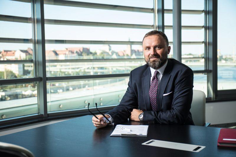 Mariusz Majkut, prezes E.ON edis energia i Szczecińskiej Energetyki Cieplnej