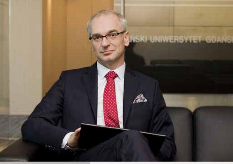 dr hab. Arnold Kłonczyński, prof. UG, Prorektor ds. Studenckich i Kształcenia Uniwersytetu Gdańskiego