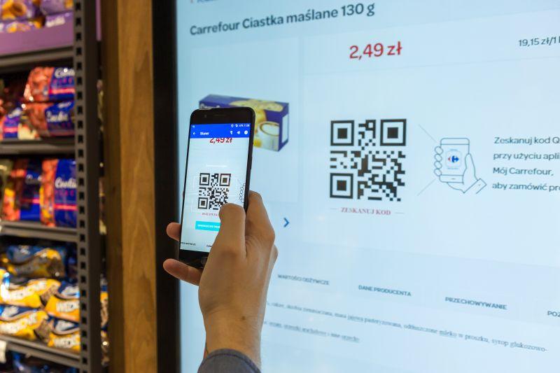 Nowoczesne rozwiązania cyfrowe Carrefour