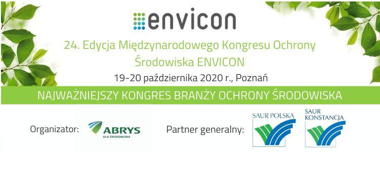 envicon kongres ochrony środowiska baner