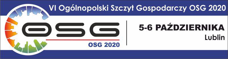 VI Ogólnopolski Szczyt Gospodarczy OSG 2020 grafika