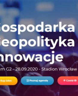 gospodarka geopolityka innowacje forum G2 Wrocław baner
