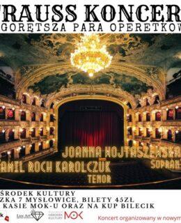 Strauss koncert w MOK, kultura mat. reklamowy
