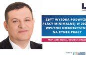 prof. Jacek Męcina, konfederacja Lewiatan