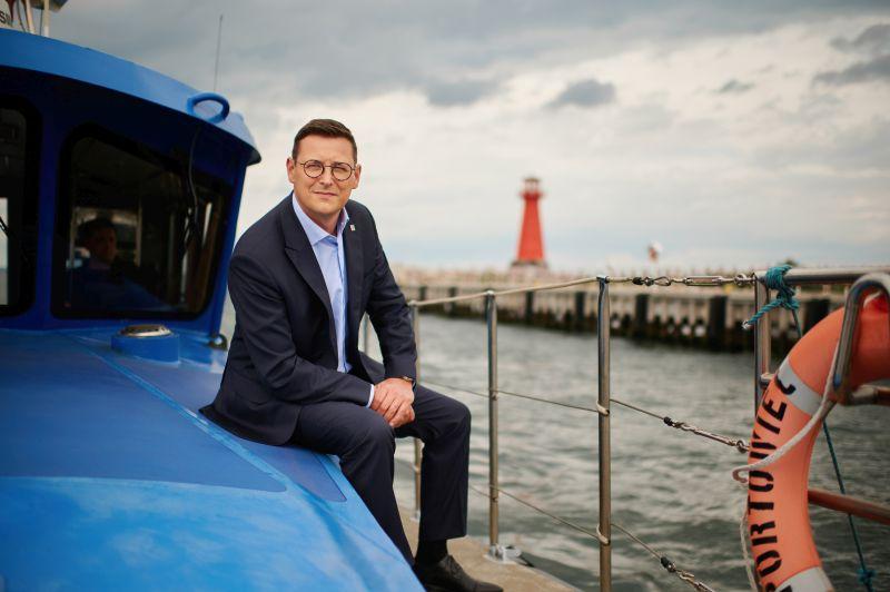 Łukasz Greinke prezes zarządu Morskiego Portu Gdańsk S.A.