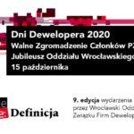 Dni Dewelopera 2020 Wrocław