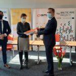 """Podpisanie umowy między Gaz System SA a Budimex S.A. na generalną realizację inwestycji """"Budowa gazociągu Goleniów – Lwówek"""""""