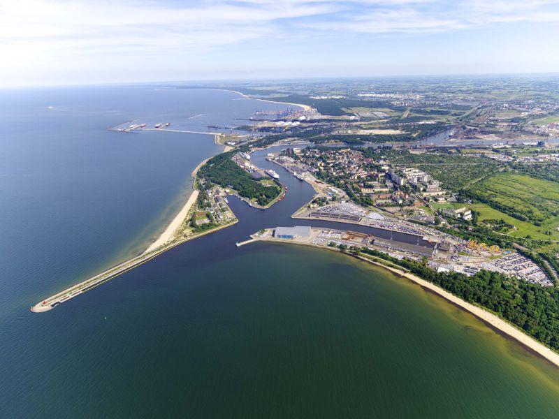 Port Gdańsk panorama