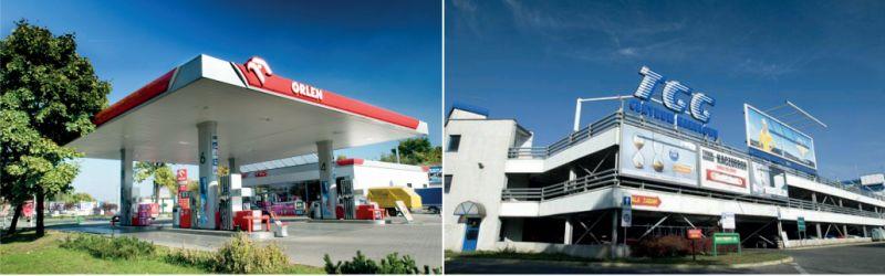 stacja benzynowa bud. Arkop