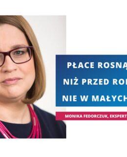 Monika Fedorczuk, ekspertka ds rynku pracy, Konfederacja Lewiatan