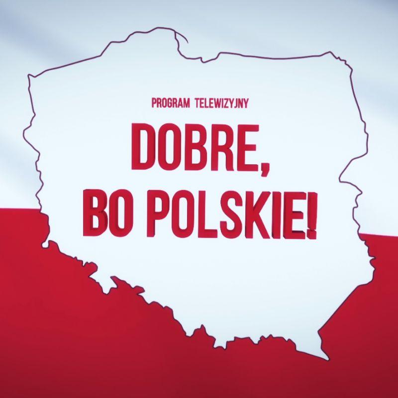 Dobre, bo polskie logo programu telewizyjnego