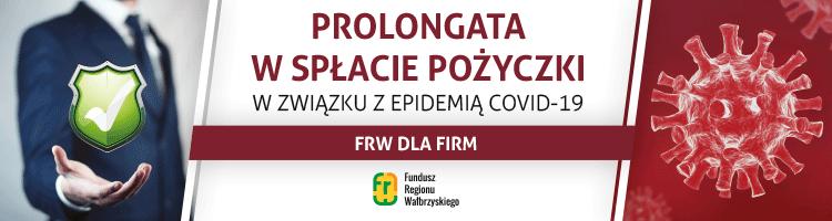 FRW Prolongata w spłacie pożyczki Covid 19