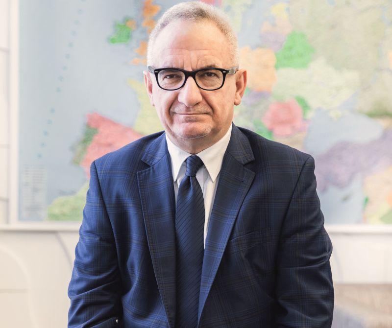 Krzysztof Urbaś, prezes Zarządu Morskich Portów Szczecin i Świnoujście SA