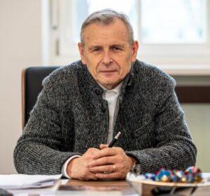 Prof. Dariusz Łydżba, prorektor ds. współpracy PWr