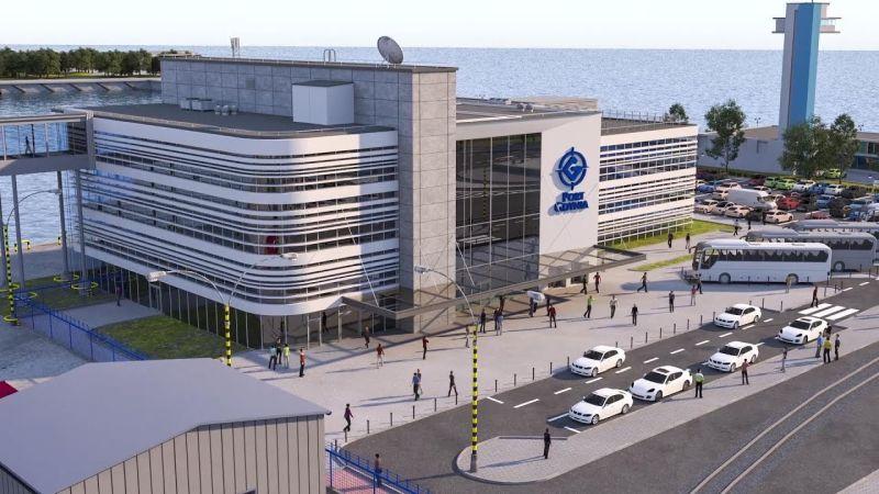 Port Gdynia Publiczny Terminal Promowy