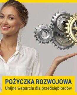 pożyczka rozwojowa, unijne wsparcie przedsiębiorców