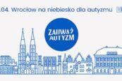 wrocław na niebiesko dla autyzmu baner