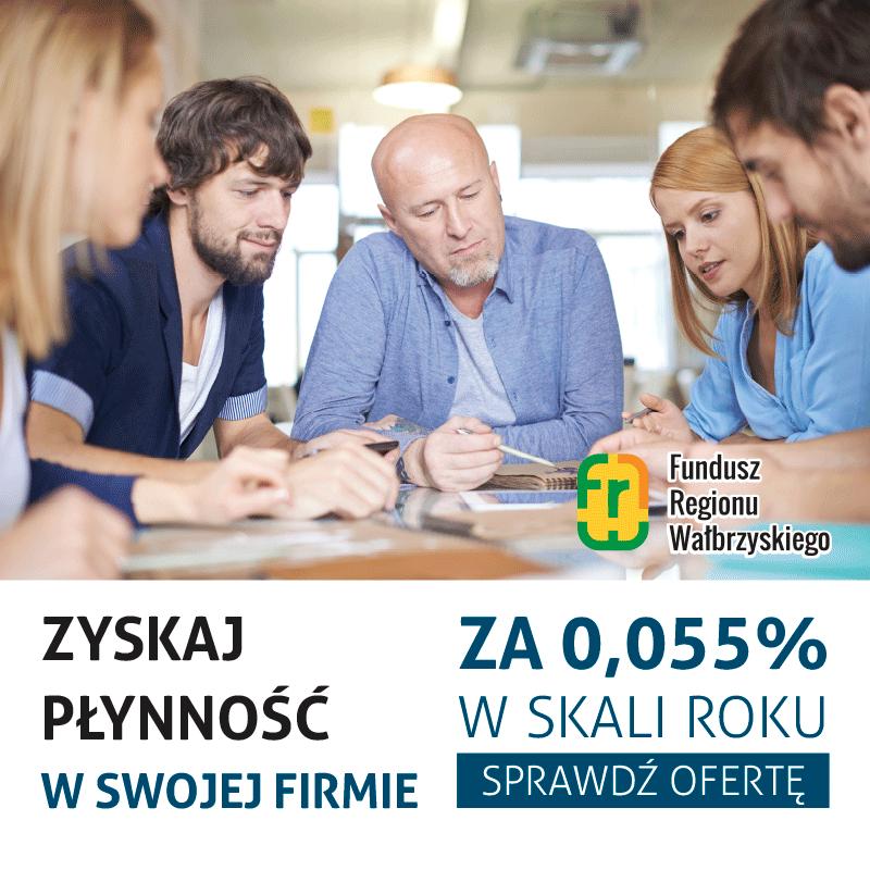 Fundusz Regionu Wałbrzyskiego baner