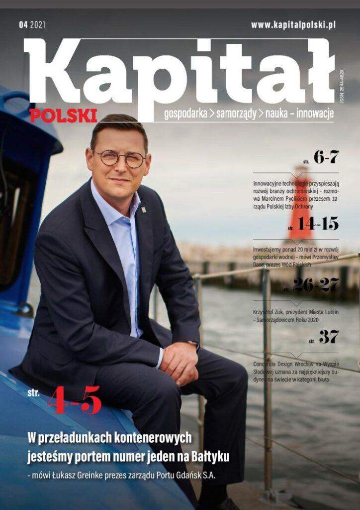 Kapitał Polski kwiecień 2021 okładka