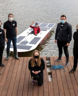 Solar-Boat łódź napędzana energią słoneczną