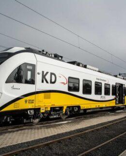 koleje dolnośląskie pociąg