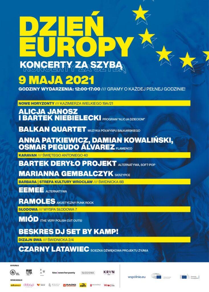 Dzień Europy plakat
