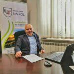 Grzegorz Dominik burmistrz Narola