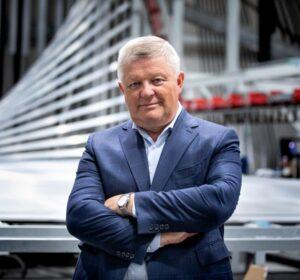 Jan Kidaj, prezes spółki Aliplast , produkującej komponenty aluminiowe