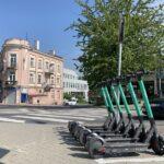 Lublin, hulajnogi
