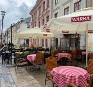 ogródki kawiarniane w Lublinie
