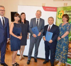 Fundusz Regionu Wałbrzyskiego i Uniwersytet Ekonomiczny we Wrocławiu łączą siły fot. FRW