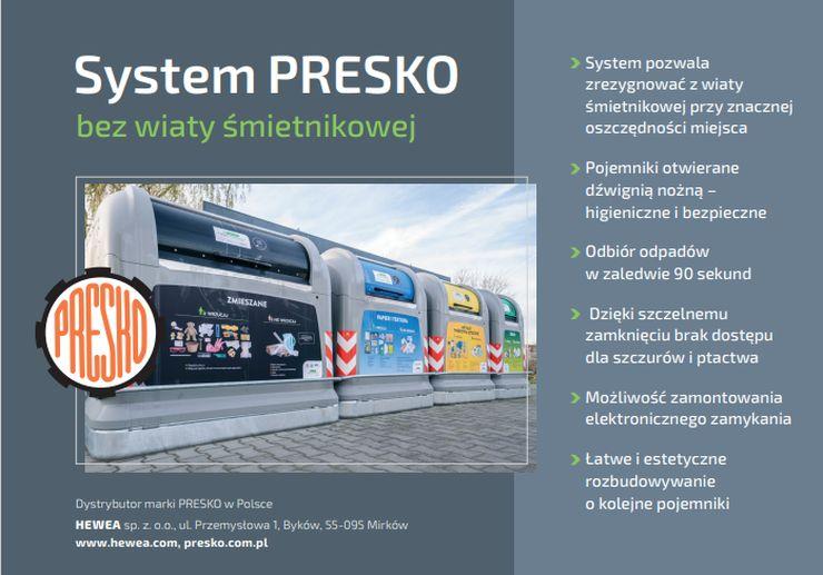 Hewea, system PRESKO