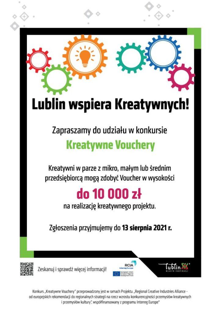Kreatywne Vouchery plakat