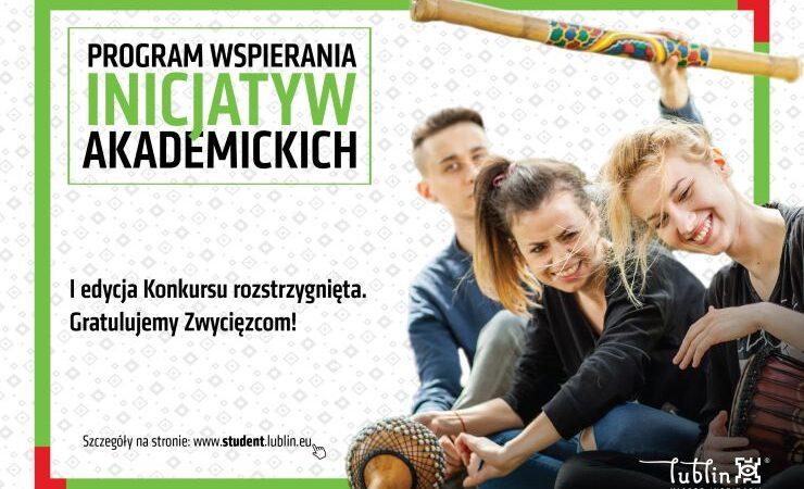 Lublin dofinansuje 9 autorskich projektów na rzecz akademickości