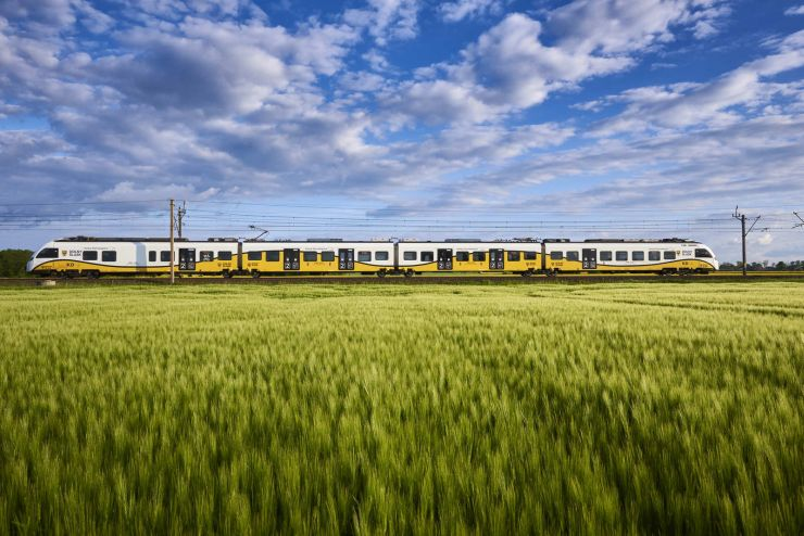 pociąg KD, podróż do Czech