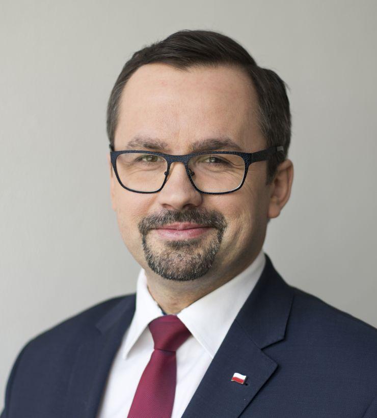 Marcin Horała, wiceminister infrastruktury i pełnomocnik rządu ds. CPK