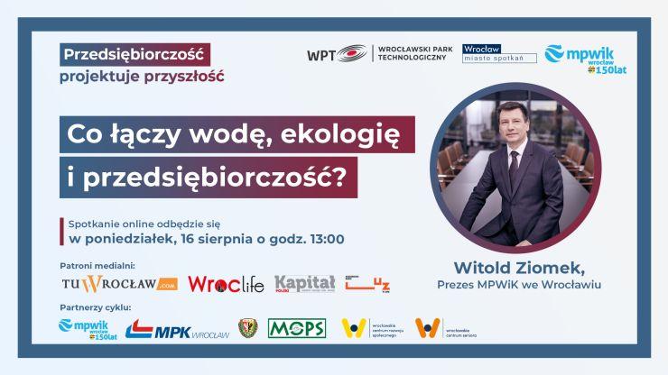 Webinary przedsiębiorczość projektuje przyszłość MPWiK i WPT
