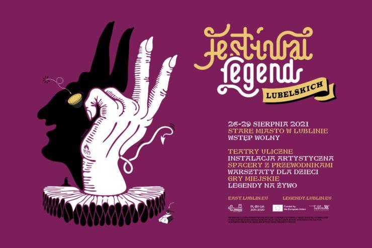 Festiwal Legend Lubelskich baner