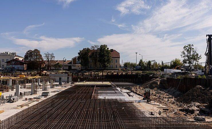 W Lublinie trwają prace przy budowie Dworca Metropolitalnego – galeria zdjęć