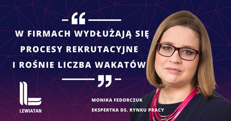 Konfederacja Lewiatan, Monika Fedorczuk-ekspertka do spraw rynku pracy