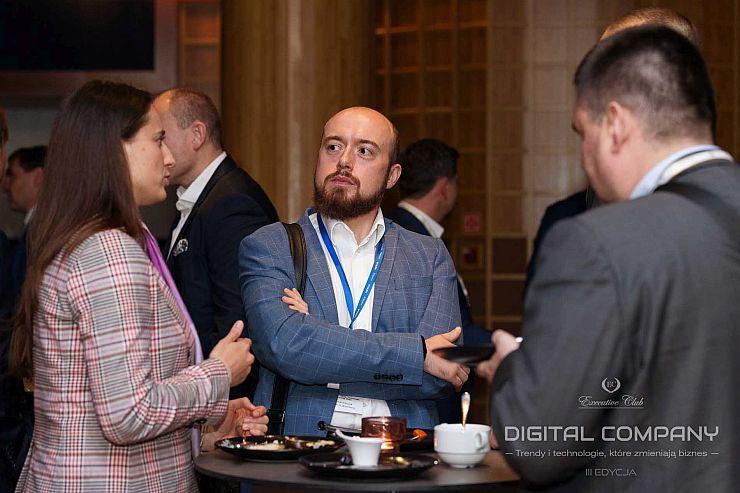 """Digital Company: Trendy i technologie, które zmieniają biznes"""" - debata klubowa zorganizowana przez Executive Club"""