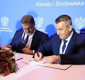W imieniu PSG porozumienie podpisali prezes zarządu Robert Więckowski i członek zarządu ds. technicznych Ireneusz Krupa (od lewej)