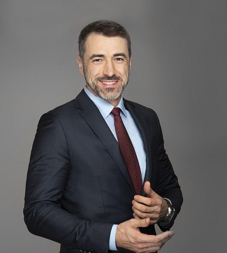Tomasz Hryniewicz - wiceprezes zarządu Grupy Azoty i prezes zarządu Grupy Azoty PUŁAWY